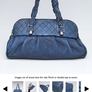 Chanel Blue Lady Braid Bag